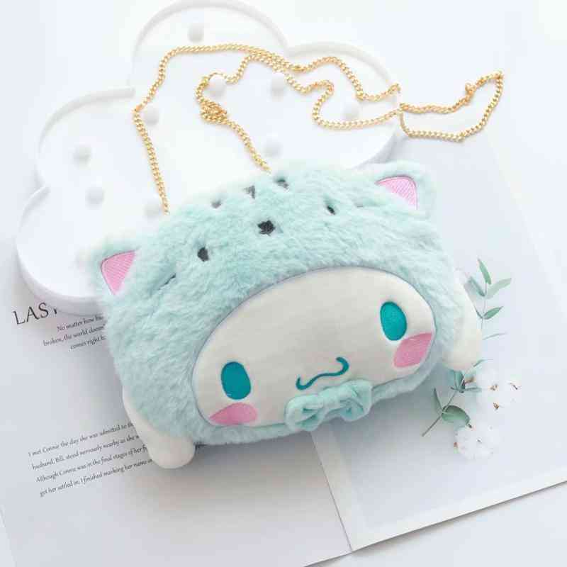 Lovely Cute Cinnamoroll/pudding/melody/kitty Design Side Sling Bag For Gils