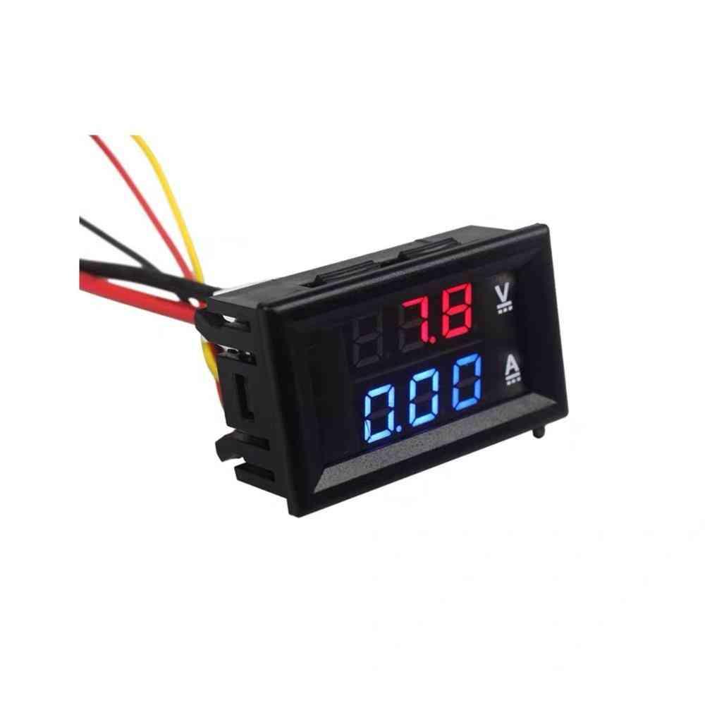 Digital Dc Voltmeter Ammeter For Model Railway Train