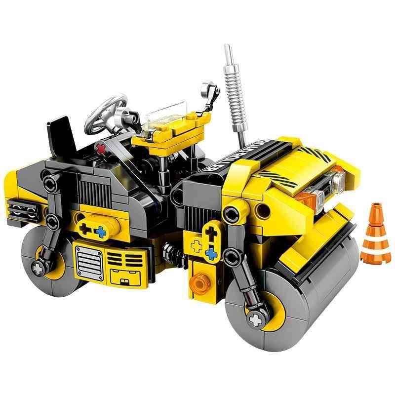 City Engineering Building Construction-diy Assemble Blocks