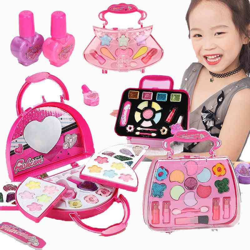 Safe Washable Cosmetics Make Up Set-pretend Play For