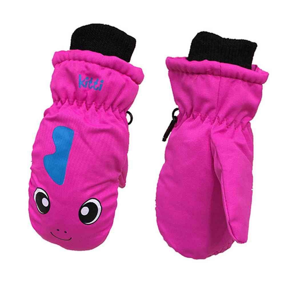 Waterproof, Non-slip And Winter Warm Ski Sports Gloves
