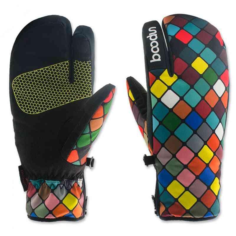 Windproof, Non-slip Winter Snowboard Gloves