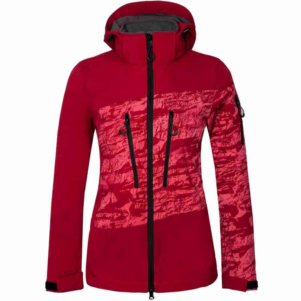Waterproof And Quick Dry-women Ski Hooded Winter Jacket