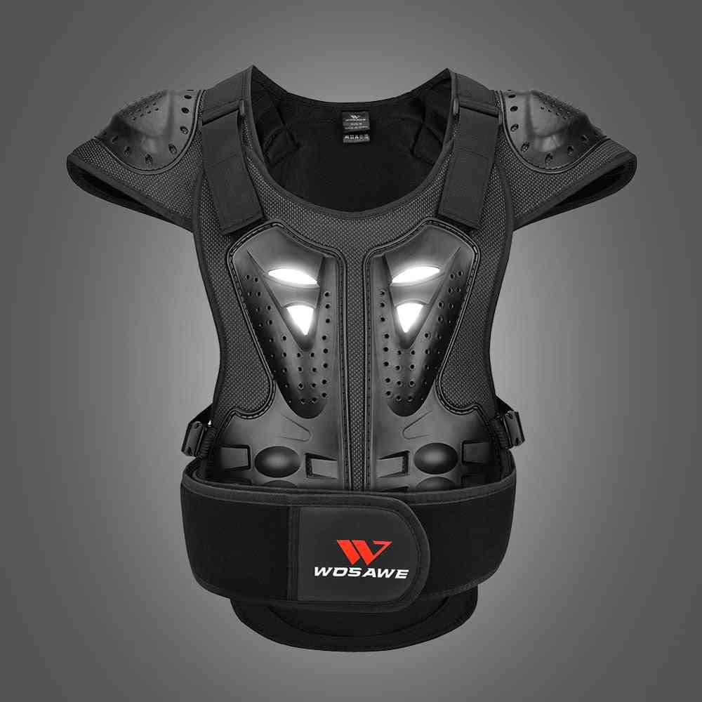 Winter Eva Jacket- Motorcycle Armour Vest, Spine Guards Gear For Adults