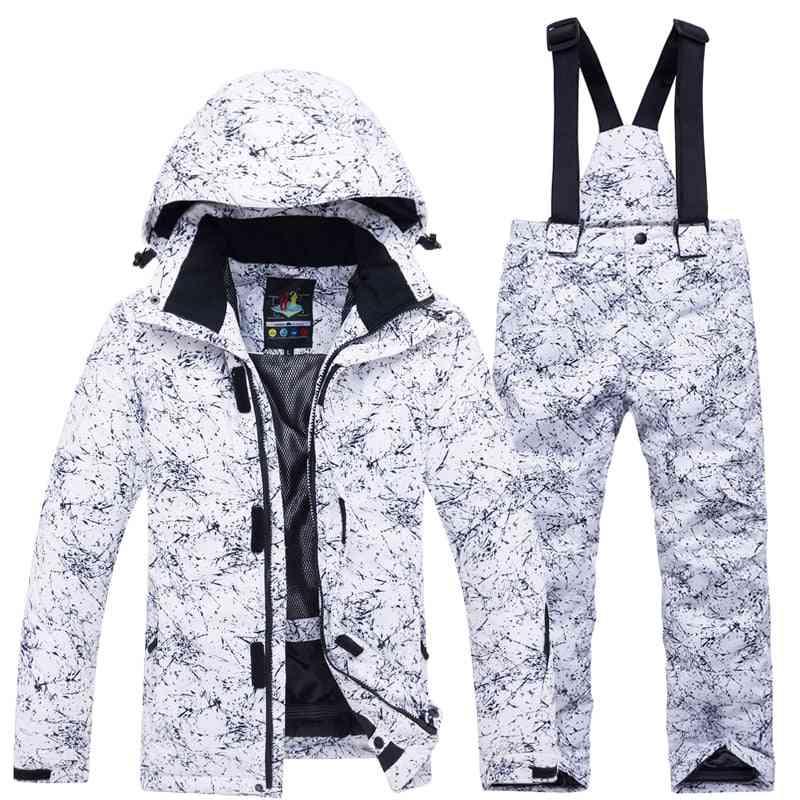Girls / Ski Suit- Waterproof Thermal Winter Clothing's Ski Suits- 30 Degree Snowboard Ski Jacket / Pants