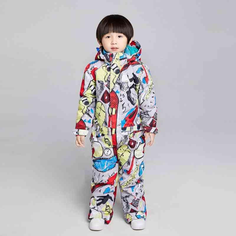 Searipe Kids Ski Suit, Brands Waterproof And Snow Set Pants- Winter Skiing And Snowboarding Jacket Child