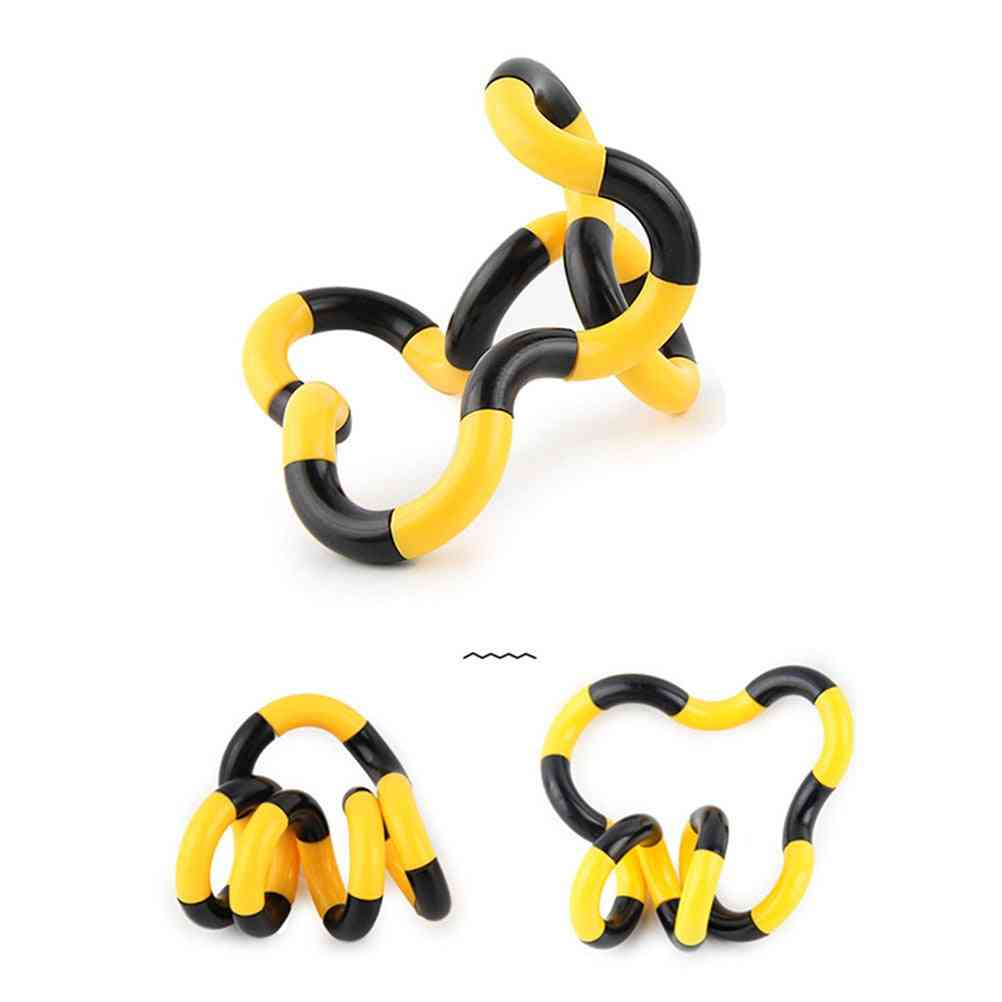 Deformed Rope Fidget- Anti Stress Twist Toy Twist For Kid And Adults