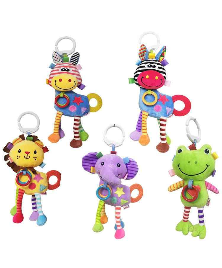Professional Animal Design Rattle Baby Play Set- Rocking Chair Accessories