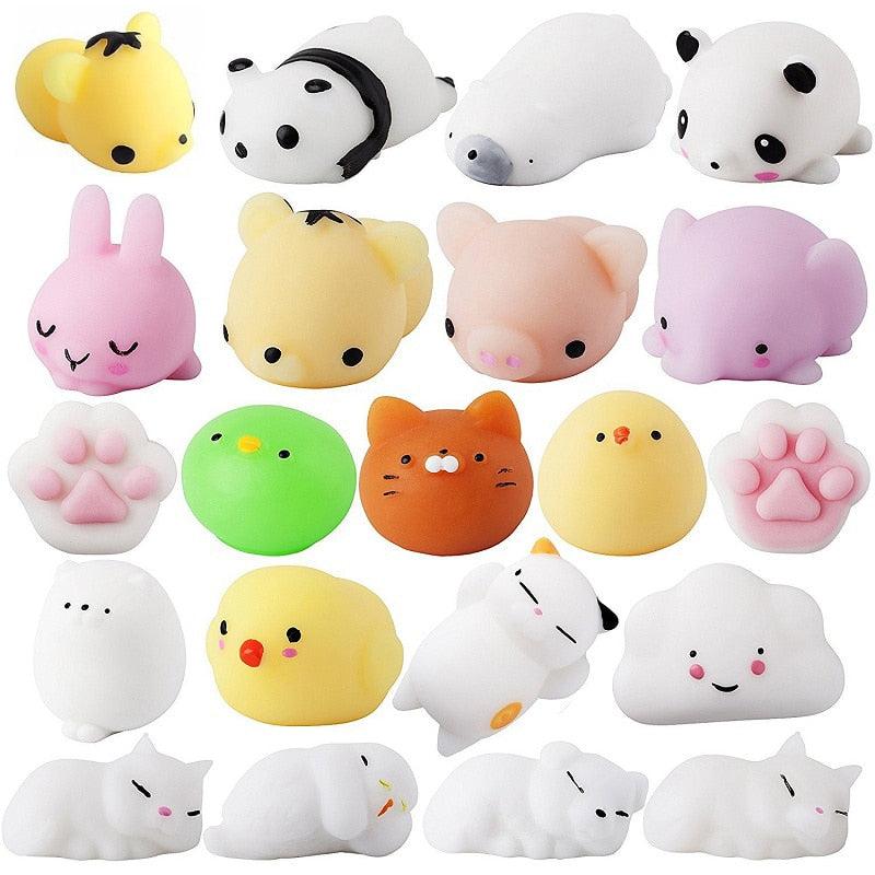 Soft Cute, Mini Antistress Ball-squeeze, Squishi Mochi Rising