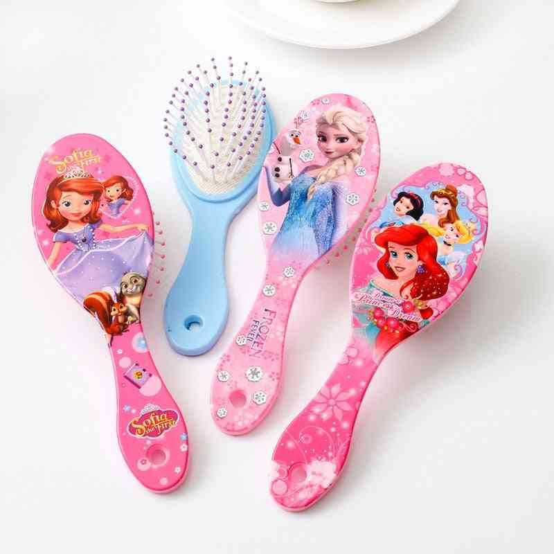 Frozen/sofia/princess/minnie/hello Kitty Printed, Massage Comb