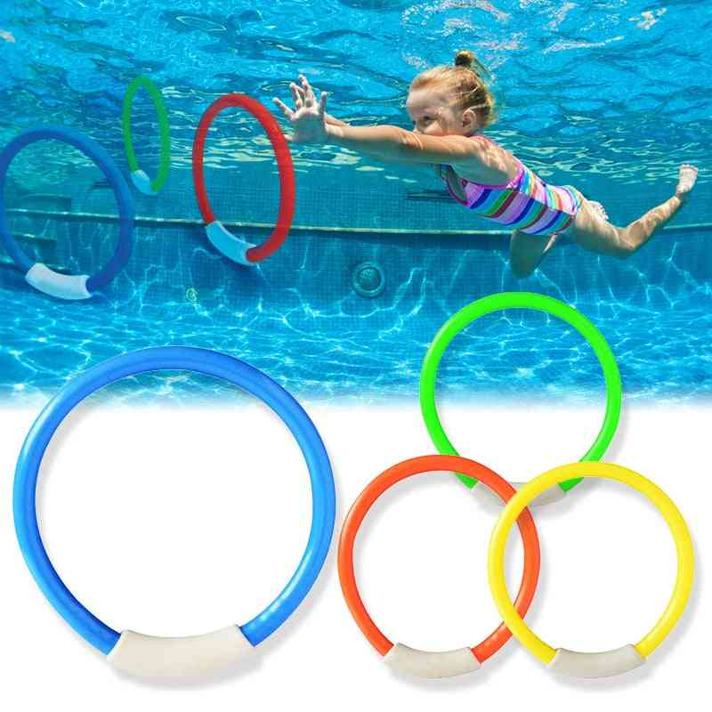 Funny Underwater Pool Dive Ring- Swimming Accessories