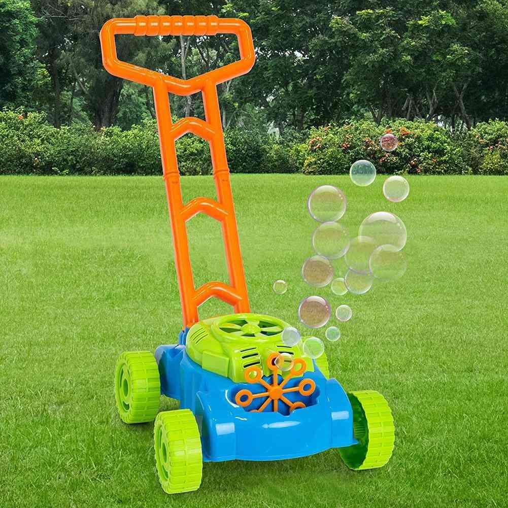 Mini Pushing Car Design, Automatic Bubble Maker Machine