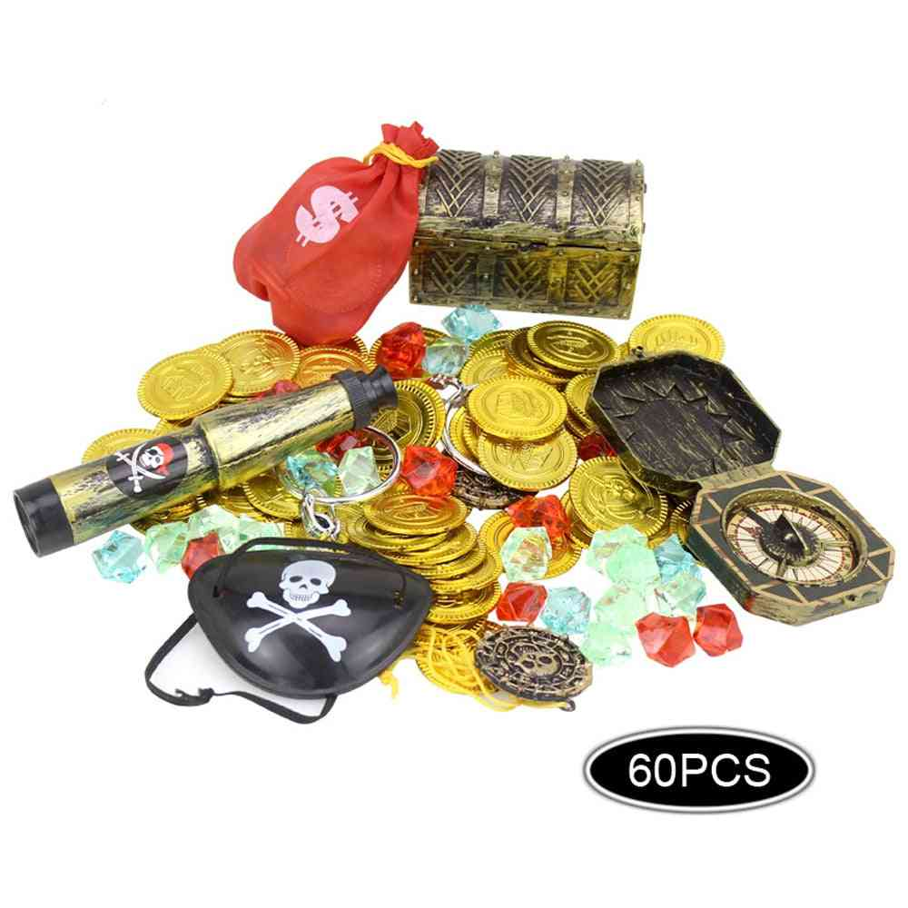Set Of Pirates Costume Props Theme Party