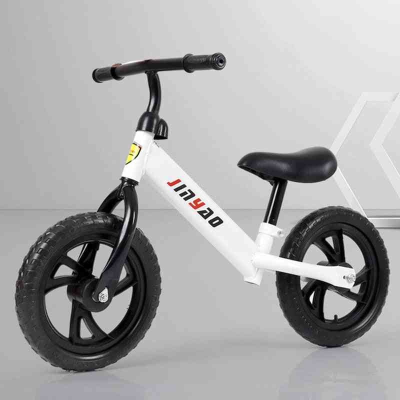 Balance Bike No Pedals, Height Adjustable Bicycle Scooter With 360° Rotatable Handlebar