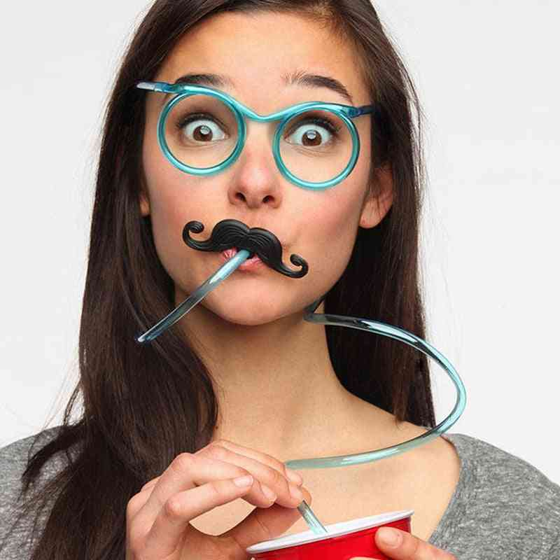 Unique, Flexible Soft Drinking Tube Straw And Party