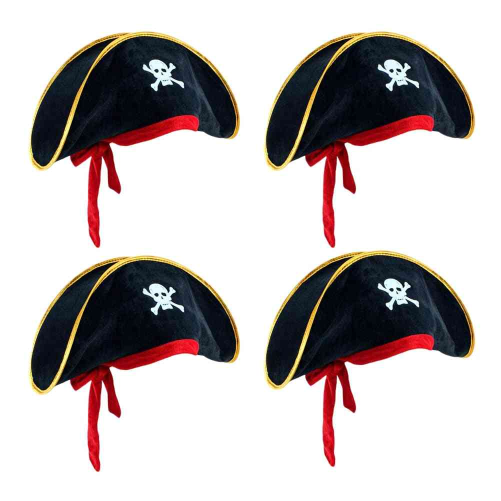 Classic Pirate Hat For Halloween Party Or Kids