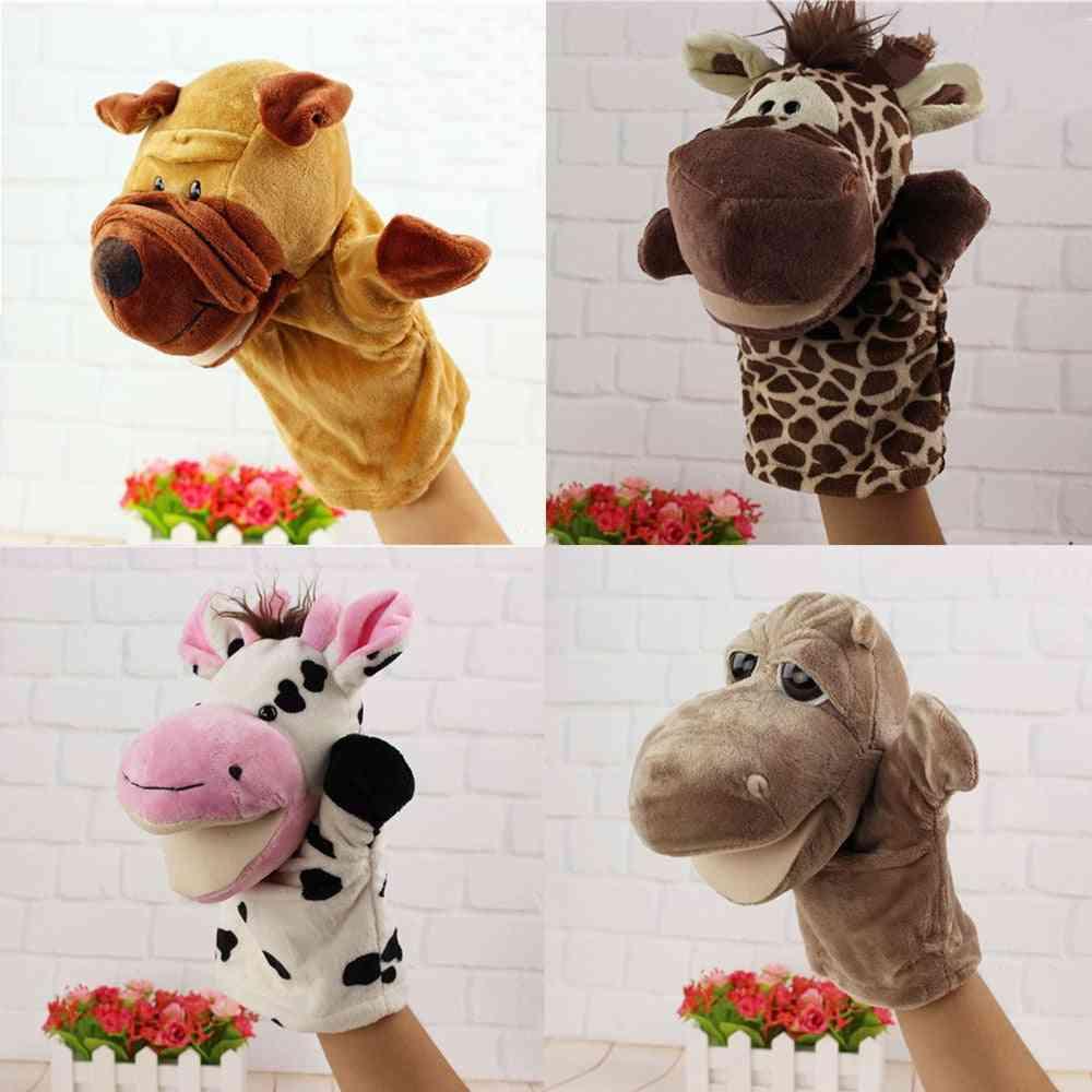 Cute Cartoon Animal Doll Glove, Hand Puppet Soft Plush