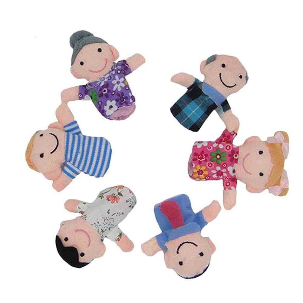 Finger Puppets Cute Doll Toy