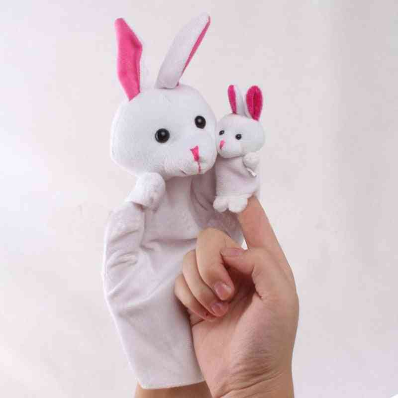 Animal Zoo Farm Hand Glove, Puppet Finger Sack Cloth