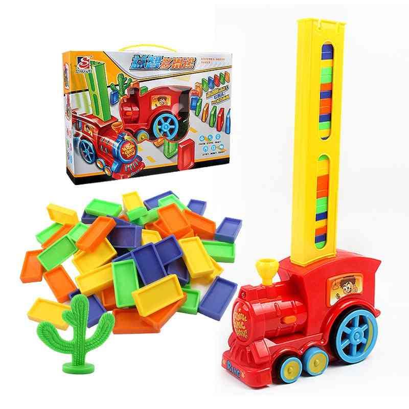 Domino Train Toy Set