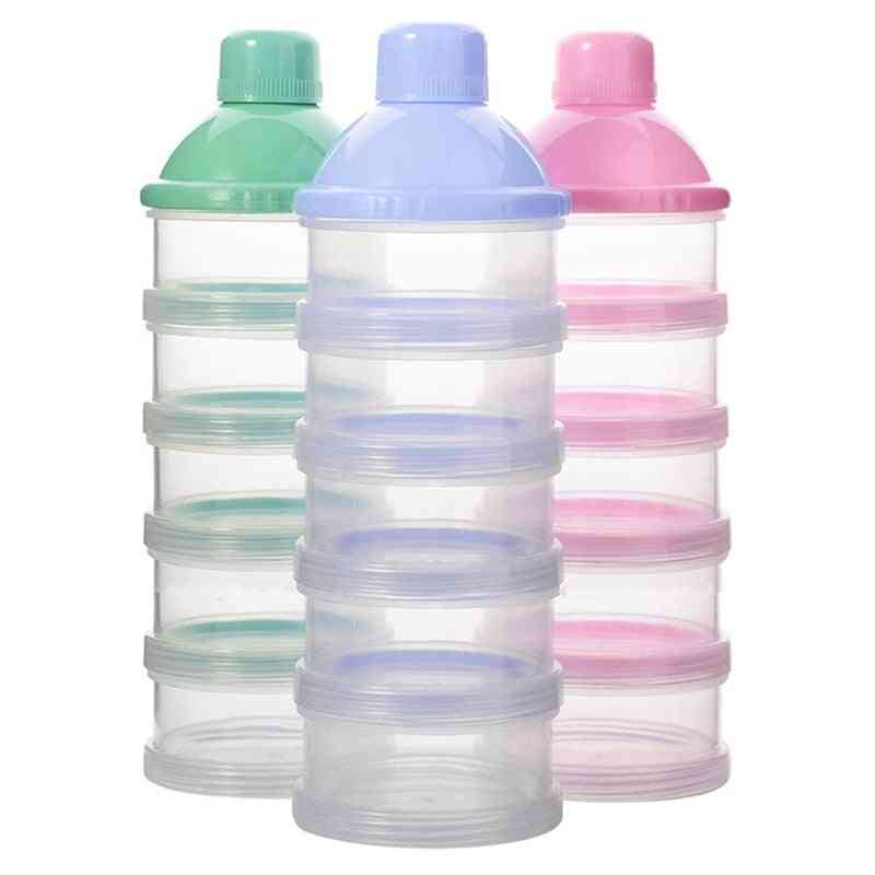 Portable Milk Powder Formula Dispenser, Food Container, Feeding Boxes For Baby