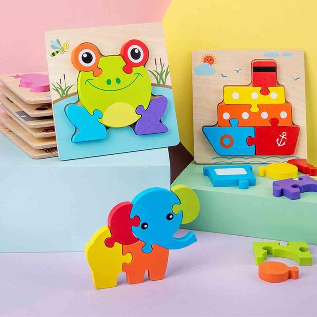3d Jigsaw Puzzle- Intelligence Development For Kids
