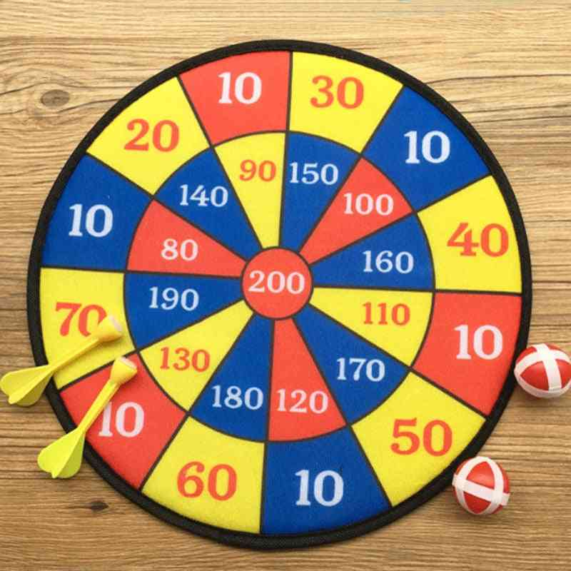 Fabric Dart Board Game With 2 Velcro-wrapped Balls For And Adult