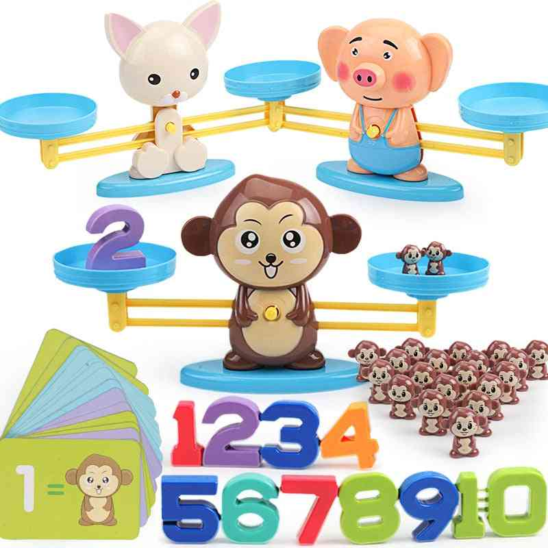 Digital Maths Balance Scale- Mathematics Learning Toy For Kids