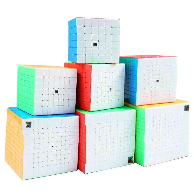 Stickerless High Level Speed Puzzle Cubes