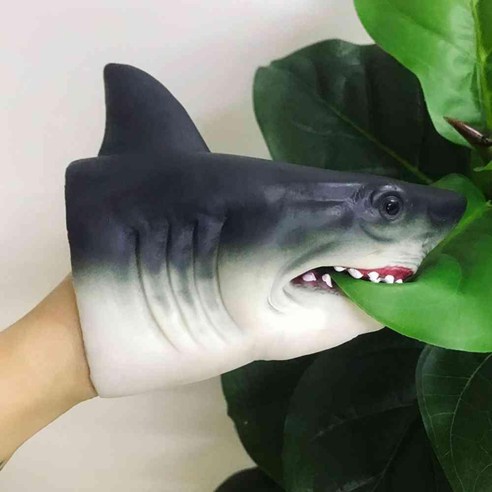 Tpr/soft Silicone Shark Head, Hand Glove Puppet