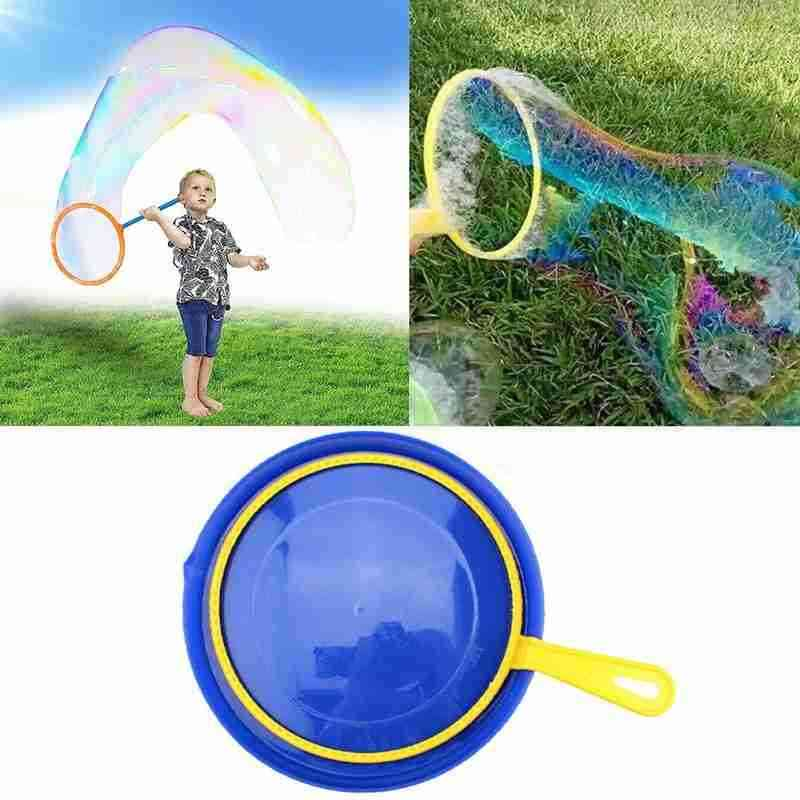 Large Bubble Wand And Tray Set- Outdoor Activity Toy