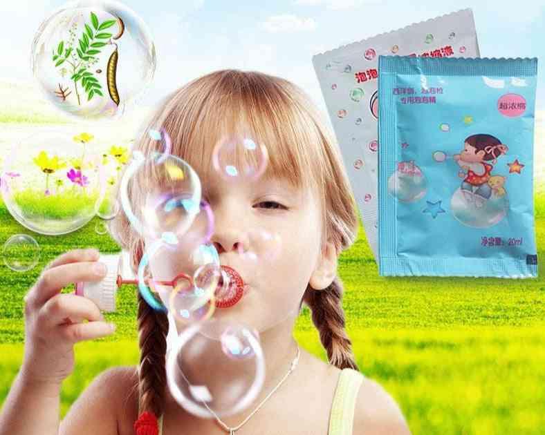 Concentrate Liquid Bubble Refills Kids, Soap Materia Water, Gun Accessories