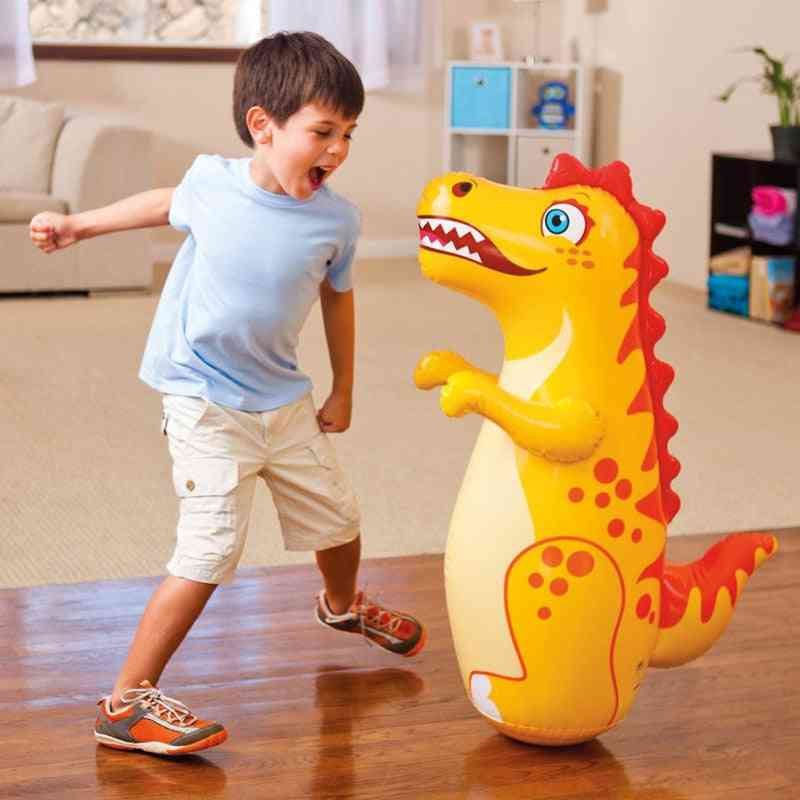 Inflatable Dinasour For-punching Bagr Toy