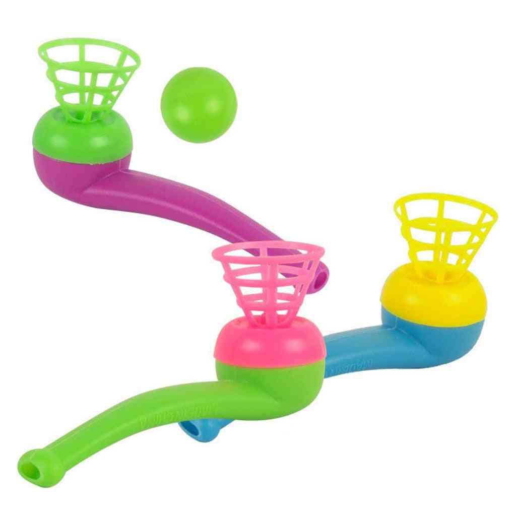 Children Blow Pipe & Balls Toy