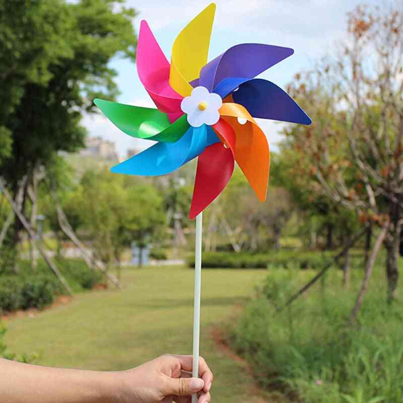 Handmade Wind Spinner And Decorations
