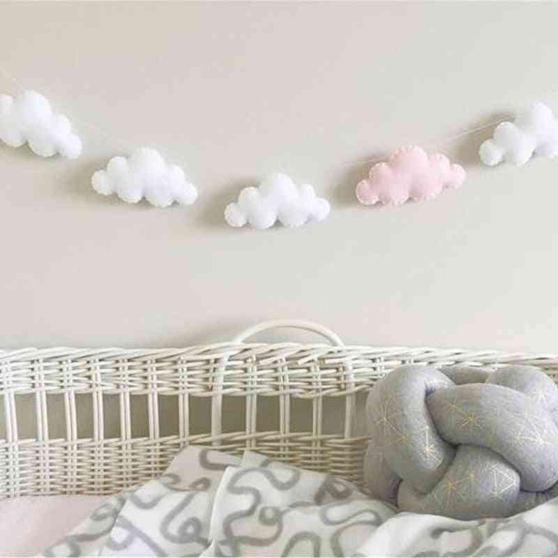 Colofull Cloud Design Baby Room Decor- Wall Hanging Bedding Bumpers