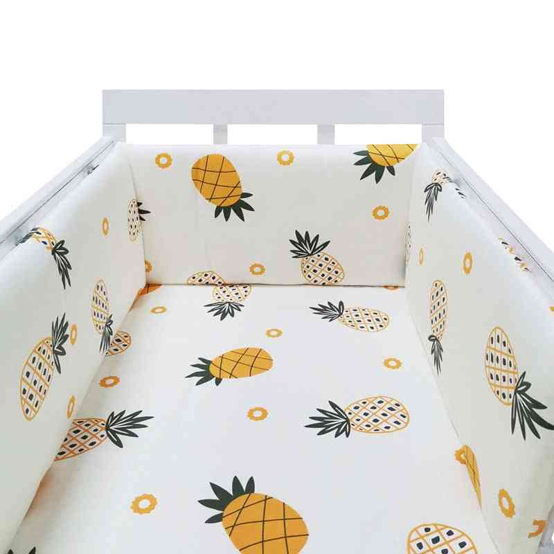 Stars Design Baby Bed Thicken Bumpers, Crib Around Cushion Cot Protector Pillows