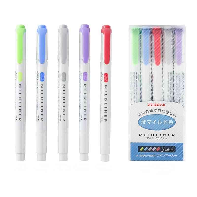 Mildliner Double Headed Highlighter / Marker Pen