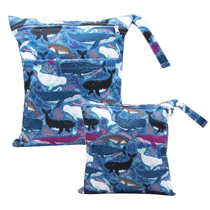 Baby Diaper Nappy Bags For Stroller, Waterproof Mommy Pockets For Newborns