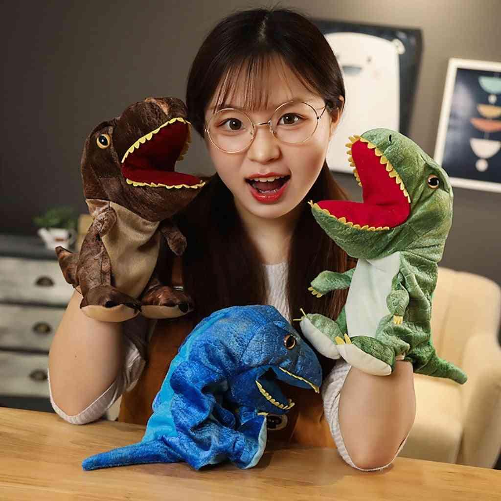 Cute Carton Animal Plush, Dinosaur Hand Puppet