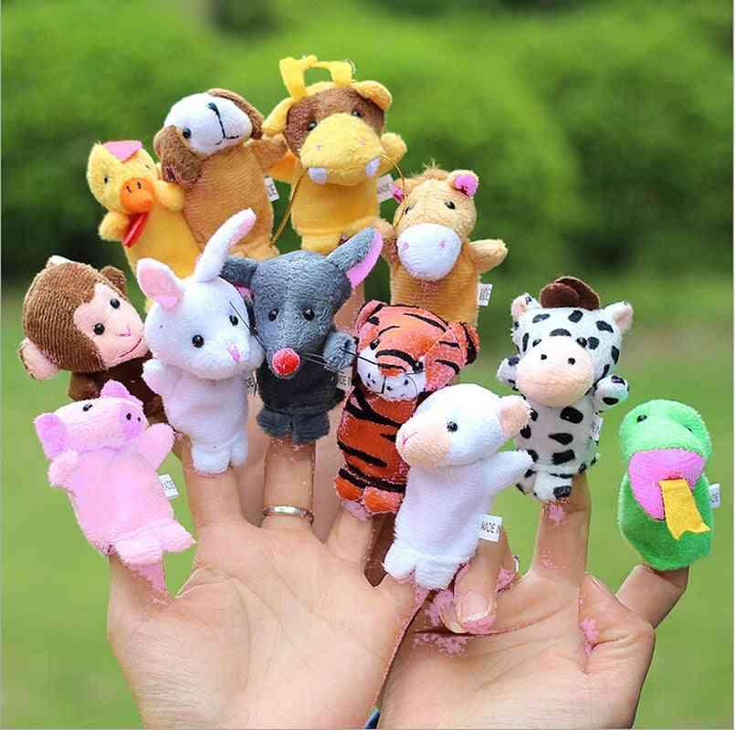 Baby Plush Puppets, Animal Finger For Girl & Boy