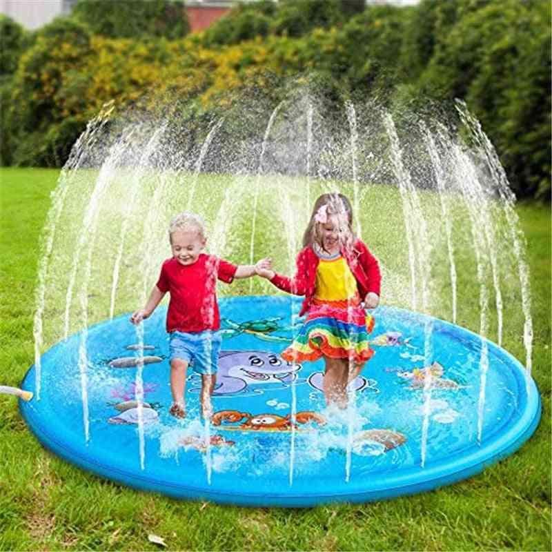 Inflatable Sprinkle Splash Water Play Mat, Pads -garden Spray