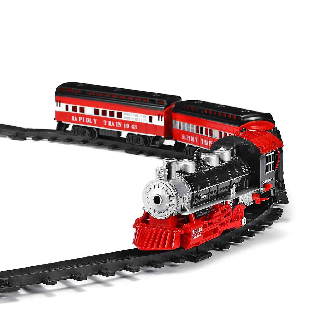 Classical Assembled Electric Train Set