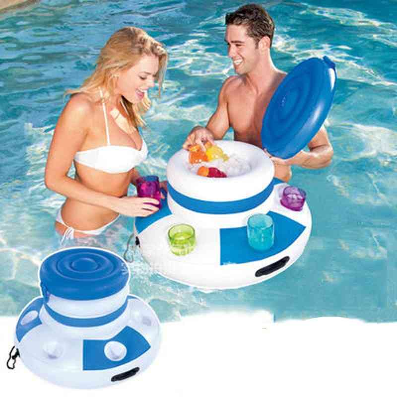 Inflatable Ice Bucket-swimming Pool Float Buoay For Adults
