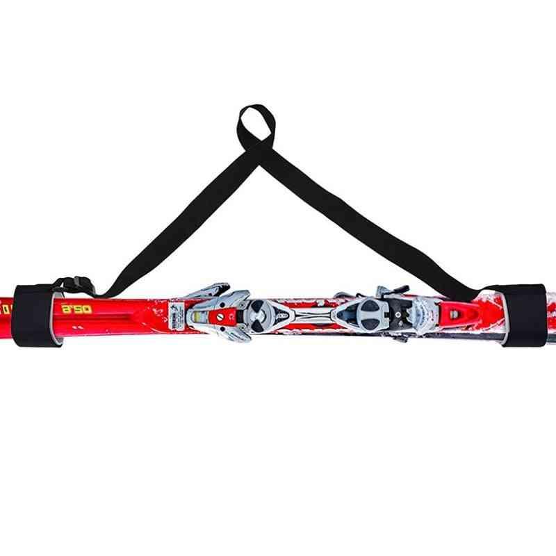 Nylon Skiing Pole Shoulder Hand Carrier Lash Handles Straps, Protect Handle Belt Bags
