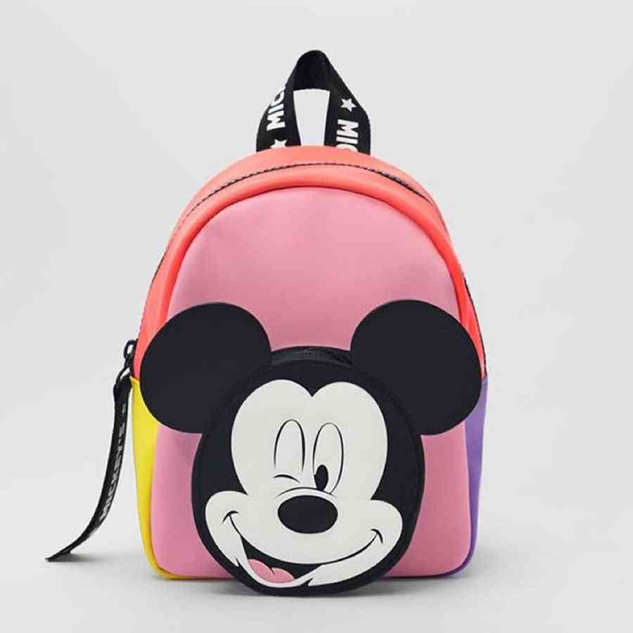 Spring & Autumn Mickey Minnie Mouse Pattern Backpack