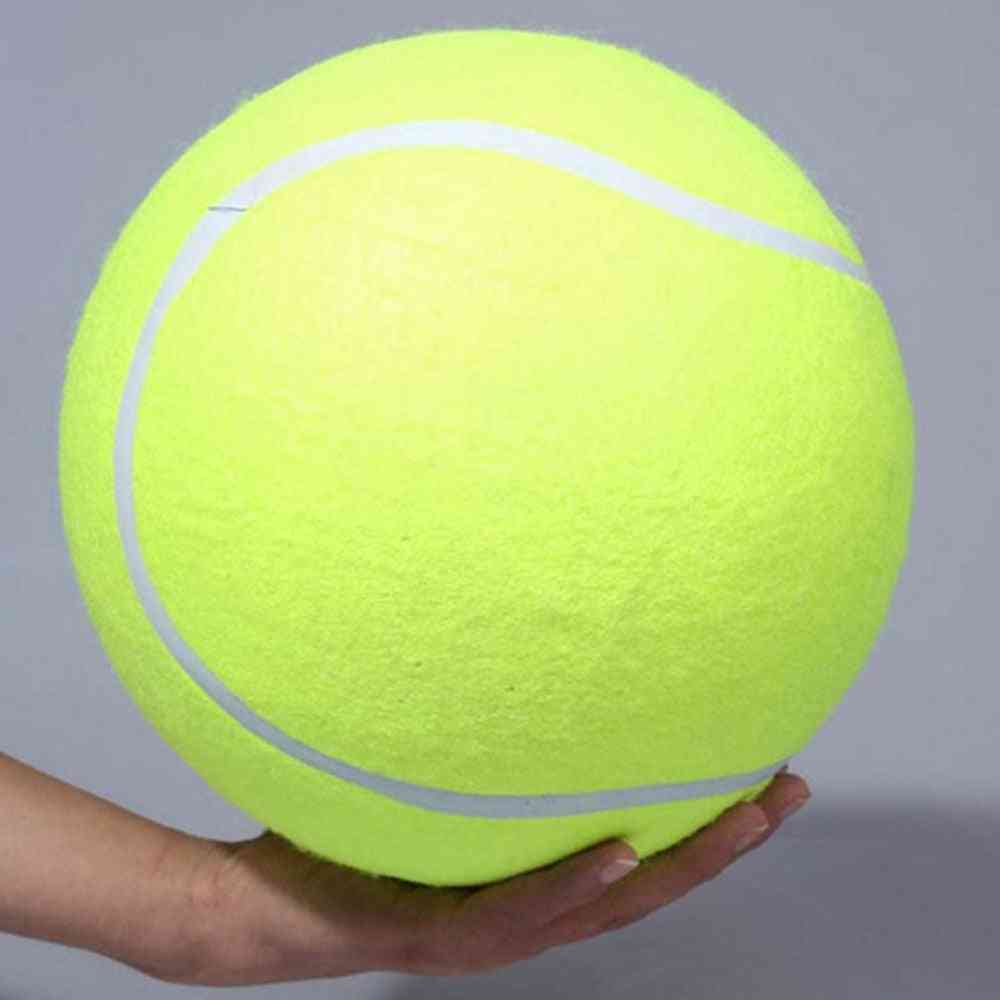 Giant Tennis Ball-dog Chew Toy For Pets