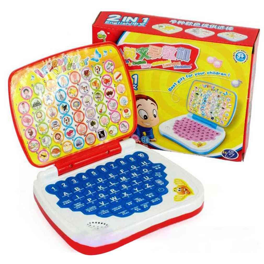 Multifunctional Bilingual Learning Machine-laptop Design Toy