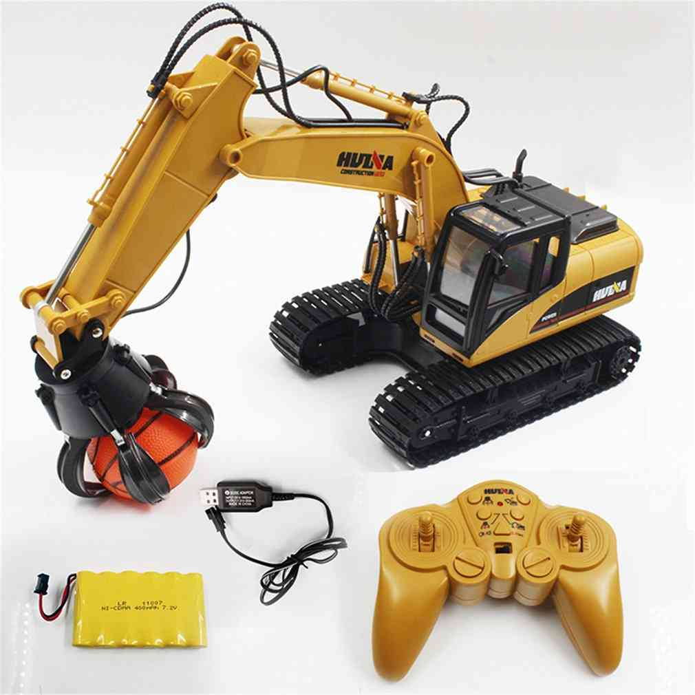 Remote Control Ball Grabber Truck- Construction Vehicle