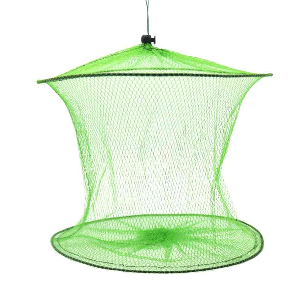 Portable And Foldable Fishing Net- Cage Trap